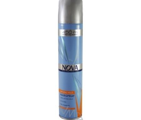 Nova Natural Hold Hair Spray Review