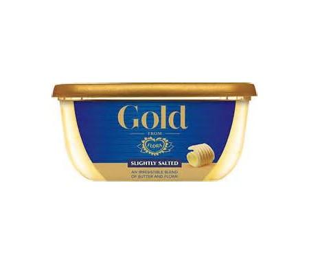 FLORA GOLD SLIGHTLY SALTED BUTTER 225G