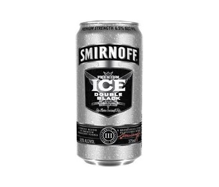 SMIRNOFF ICE DOUBLE BLACK