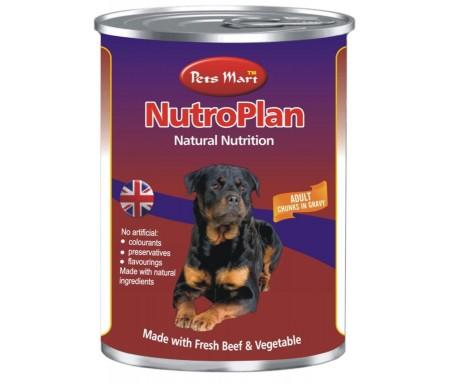 PETS MART NUTROPLAN ADULT CHUNKS IN GRAVY - 400G