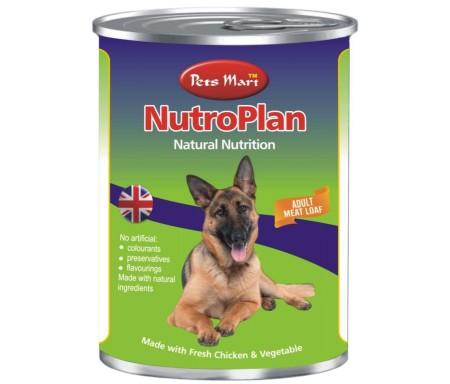 PETS MART NUTROPLAN ADULT MEAT LOAF - 400G