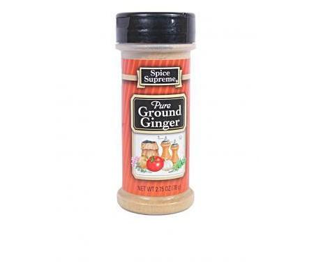 Ground ginger spice