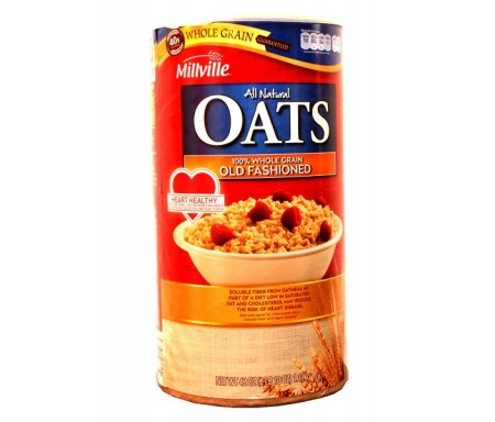MILLVILLE ROLLED OATS - 1.9KG (STRAWBERRY)