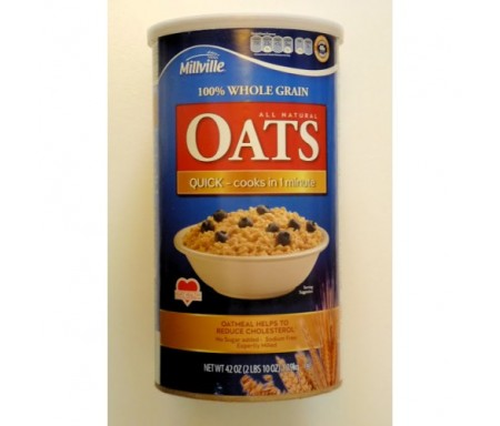 MILLVILLE ROLLED OATS - 1.9KG ( BLUEBERRY)