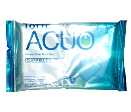 LOTTE ACUO CLEAR BLUE MINT
