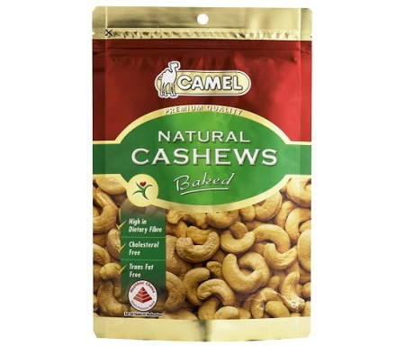 CAMEL NATURAL CASHEWS BAKED - 150G
