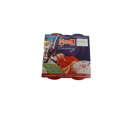 PASCUAL STRAWBERRY 4IN1 YOGHURT