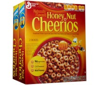CHEERIOS HONEY & NUT CEREAL X2