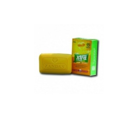 ZANDAS XTRA ANTISETIC BAR 80G
