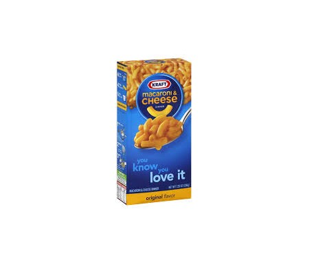 KRAFT MACARONI CHEESE ORIGINAL FLAVOR 206G
