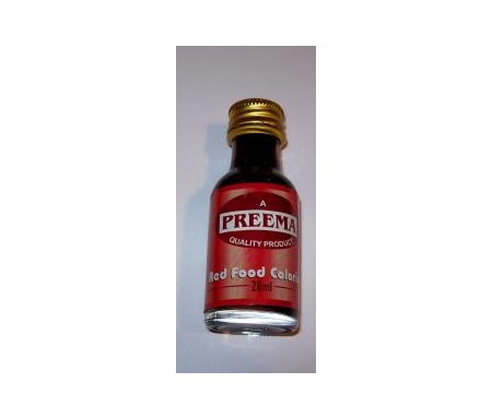 PREEMA RED FOOD COLORING 28ML