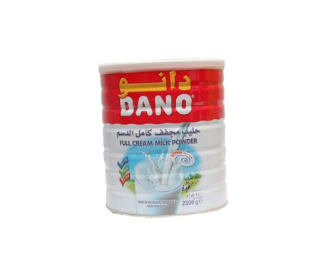 DANO MILK POWDER 2500G