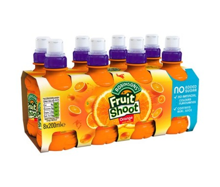 FRUIT SHOOT ORGANE 8X200ML
