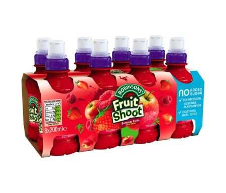 FRUIT SHOOT SUMMER FRUIT 8X200ML