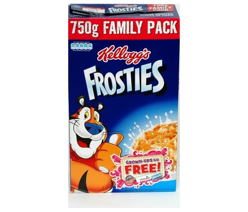 Kellogg 39 s frosties 750g for Cuisine 750g