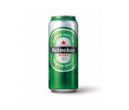 HEINEKEN CAN BEER 50CL