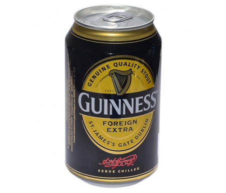 GUINNESS CAN DRINKS 330ML