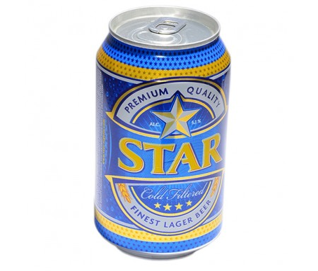 STAR CAN BEER 330ML