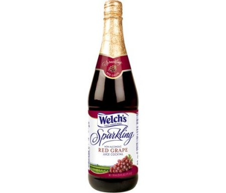 WELCH'S SPARKLING RED GRAPE 750ML