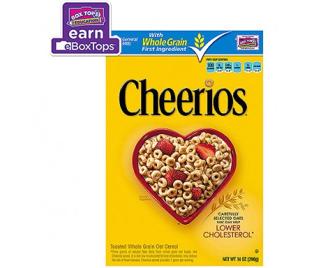 CHEERIOS WHOLE GRAIN CEREAL
