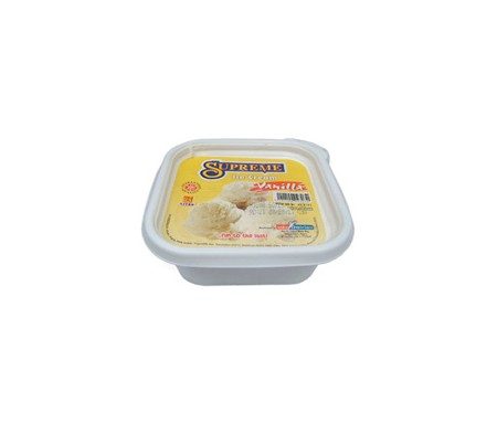 SUPREME ICE CREAM VANILLA 2.25L