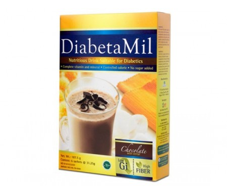 DIABETAMIL CHOCOLATE 187.5G
