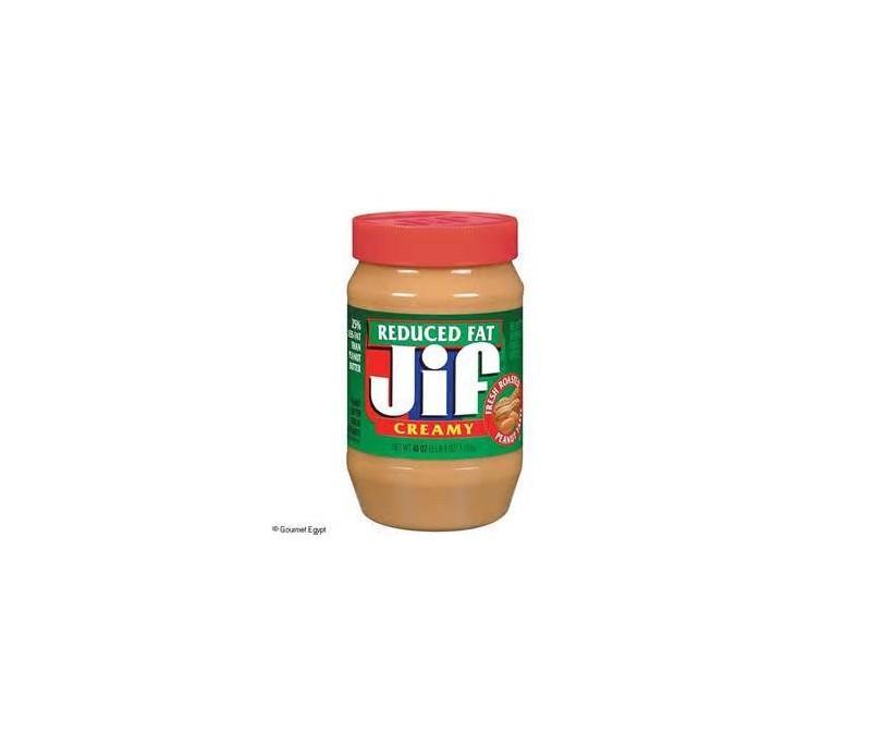 Jiff Reduced Fat Peanut Butter 7
